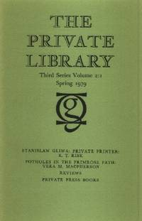 Stanislaw Gliwa, Private Printer