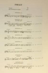 image of Werke: Works; Reihe 1, Band 4, Series 1, Volume 4, Symphonien: Symphonies: 1764-1765