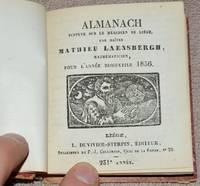 image of Almanach supputé sur le Méridien de Liège par Maître Mathieu Laensbergh, mathématicien, pour l'année bissextile 1856 [SUIVI DE] Almanach des Bergers pour l'Année Bissextile 1856