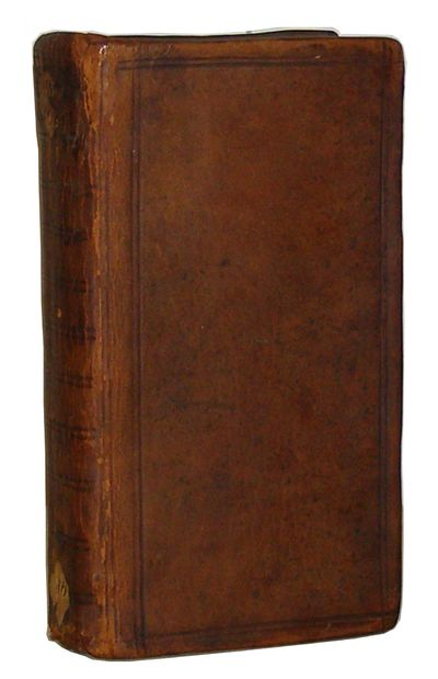 Rotterdam: Arnold Leers, 1648 12mo. Fourth edition. With additional engraved title page and 2 full-p...