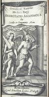 View Image 3 of 4 for Exercitatio anatomica de cordis et sanguinis motu. Cum praefatione Zachariae Sylvii Medici Roterodam... Inventory #WH001b