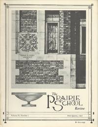 The Prairie School Review (Volume IV, Number 1--First Quarter, 1967)