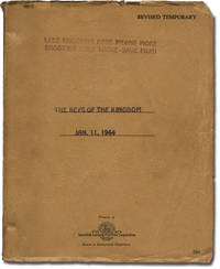 The Keys to the Kingdom (Original screenplay for the 1944 film)