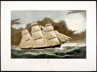 Clipper Ship Dreadnought off Tuskar Light, 12 1/2 days from New York on her celebrated passage into dock at Liverpool in 13 days 11 hours Decr. 1854. To her Commander S. Samuels Esq this Print is respectfully dedicated