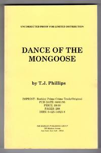 Dance of the Mongoose COLLECTIBLE UNCORRECTED PROOF]