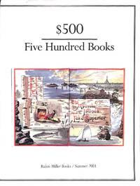 Catalogue 125/ Summer 2001: $500 Five Hundred Books.