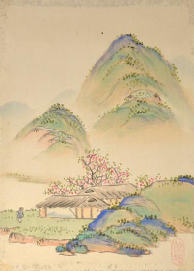 Tachika Chikuson 田近竹邨 Chikuson Jihitsu Gachō 竹邨自筆画帳. N.p. Early 20th century. N...