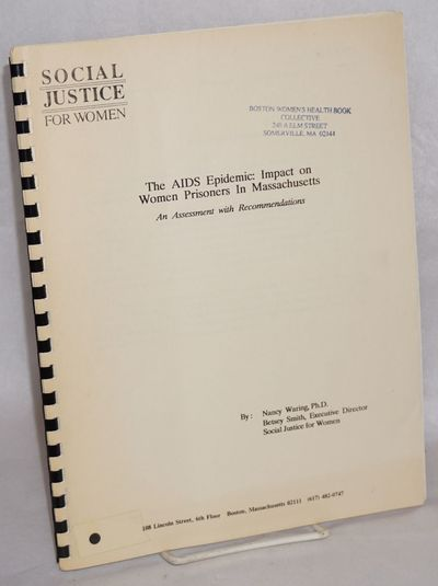 Boston: Social Justice for Women, 1990. 19p., 8.5x11 inches, introduction, scope and origin, recomme...