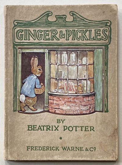 POTTER (Beatrix) Ginger & Pickles. London: Frederick Warne, 1909. Frontispiece and 9 color illustrat...