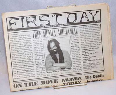 Philadelphia: MOVE Organization, 1998. Newspaper. 8p., single issue of the newspaper, horizontal fol...