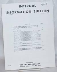 Internal Information Bulletin, Dec 1973, No. 7