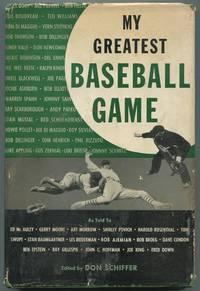 image of My Greatest Baseball Game