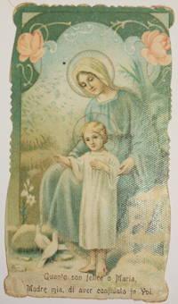 QUANTO SON FELICE O MARIA MADRE MIA DI AVER CONFIDATO IN VOI IN CURIA ARCH., MEDIOLANI 10 APRILIS...