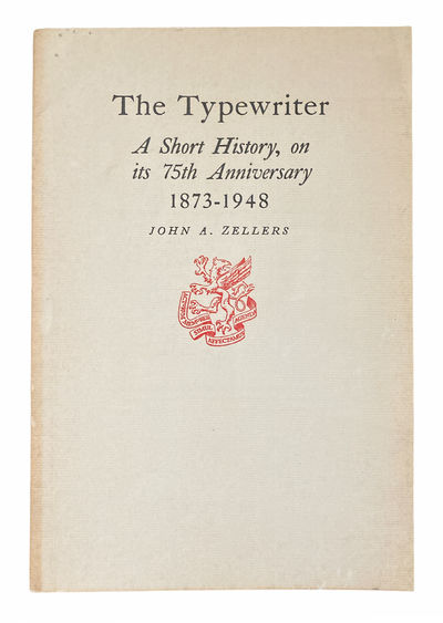 [Technology] The Typewriter. A Short...
