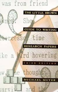 image of The Little Brown Guide to Writing Research Papers