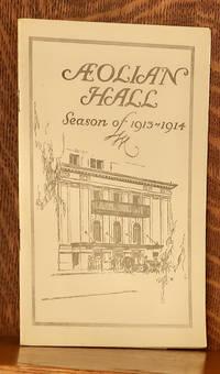 image of AEOLIAN HALL SEASON 1913-1914