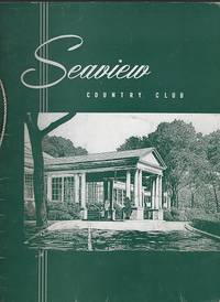 VINTAGE MENU FOR SEAVIEW COUNTRY CLUB, ABSECON, NEW JERSEY