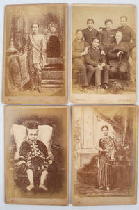 A Collection of Cabinet Cards of Prince Prisdang Chumsai and Members of the Thai Royal Family Circa 1882.