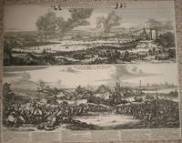 (2 Views; Second Anglo-Dutch War): Afbeeldingh van de stadt en revier van Rochester, Chetham..Aerdigh na 't leven geteeckent door W. Schellinks..zuydt-west syde, waer in klaer Vertoont..victorieuse uytwerckingh van de oorlochs vloot der ... Iunii 1667