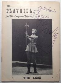 "Autographed Playbill for ""The Lark"