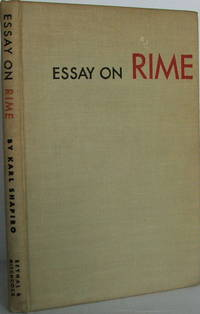 image of Essay On Rime