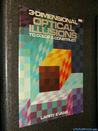 3-Dimensional Optical Illusions To Color & Construct