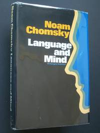 Language and Mind by  Noam Chomsky - Hardcover - Second Edition, Enlarged - 1972 - from Bookworks (SKU: u0437)