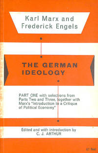 image of Introduction to a Critique of Political Economy (The German Ideology)