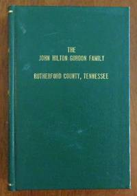 image of The John Hilton Gordon Family, Rutherford County, Tennessee
