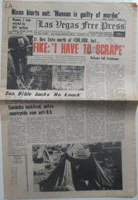 Las Vegas Free Press. August 12, 1970. Vol. 1. No. 32 by Various authors - 1970 - from Mare Booksellers (SKU: 014722)