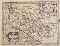 [1625 MAP OF WESTERN MEXICO, extracted from Purchas His Pilgrims]. Hispania Nova / Hondius his Map of New Spaine (sic)