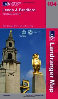 Leeds and Bradford, Harrogate and Ilkley (OS Landranger Map) by Ordnance Survey - Paperback - from World of Books Ltd and Biblio.com