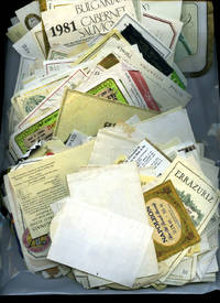 image of Approximately 300 Unused French, Italian, Spanish, German, Bulgarian Wine Labels, Neck Labels, Rear Labels