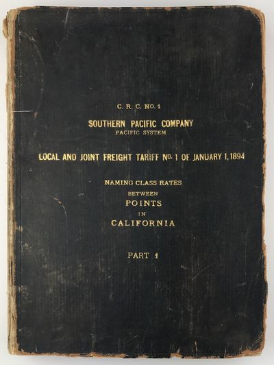 pp., unpaginated. Quarto. Contemporary limp black calf, cover gilt; spine perished, extremities worn...