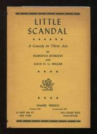 New York/Hollywood: Samuel French. Near Fine in Very Good+ dj. (c.1951). First Edition. Hardcover. ....