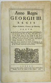 ANNO REGNI GEORGII III. AN ACT FOR INDEMNIFYING PERSONS WHO HAVE INCURRED CERTAIN PENALTIES INFLICTED BY AN ACT OF THE LAST SESSION OF PARLIAMENT, FOR GRANTING CERTAIN STAMP DUTIES IN THE BRITISH COLONIES AND PLANTATIONS OF AMERICA