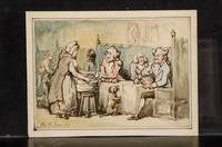 [Three Men Seated in a Tavern]