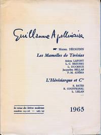 La Revue des Lettres Modernes 123-126