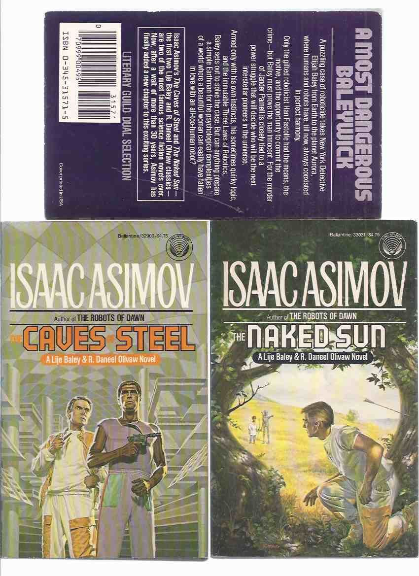 The Caves of Steel, a book by Isaac Asimov | Book review