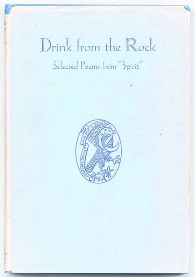 New York: Catholic Poetry Society of America, Inc, 1944. Hardcover. Very Good/Very Good. First editi...