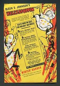 "Olsen & Johnson's ""Hellzapoppin"" / ""The Streets of Paris"" [1939  promotional flyer]"