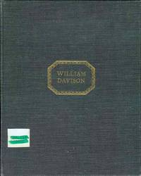 William Davison of Alnwick: Pharmacist and Printer 1781-1858