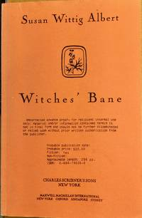 WITCHES'  BANE UNCORRECTED ADVANCE PROOF COPY