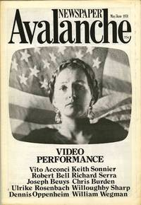 Avalanche newspaper, number 9, May-June 1974. Video Performance