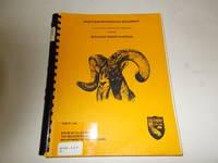 Draft Environmental Document Regarding Bighorn Sheep Hunting : Section 362, Title 14, California...