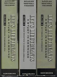 image of Lee's Lieutenants: A Study in Command (3 Volume Set)