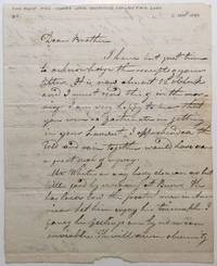 Outstanding Autographed Letter Signed about the Alexander Hamilton / Aaron Burr duel