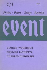 EVENT: Fiction, Poetry, Essays, Reviews. 2 / 3