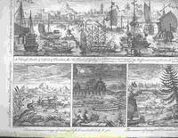 """Chinese Barks & Vessels of Burden... A Kind of Galley, Two uncommon ways of catching Fish; the manner of taking Wild Ducks described...from """"A Description of the Empire of China and Chinese-Tartary,..."""""""