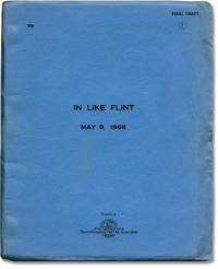 In Like Flint (Original screenplay for the 1967 film)